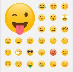 On voit les différentes émotions transmises par les registres.