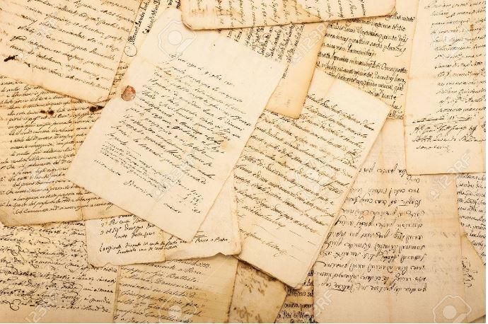 On voit des lettres écrites dans la princesse de Montpensier.