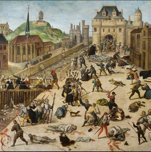 Princesse de Montpensier et histoire renvoie aux guerres de religion de l'époque.