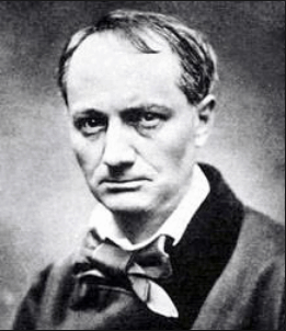 On voit la photographie de Charles Baudelaire qui illustre sa biographie.