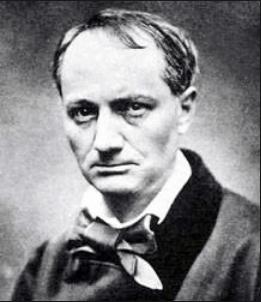 On voit la photographie de Charles Baudelaire qui illustre sa biographie.