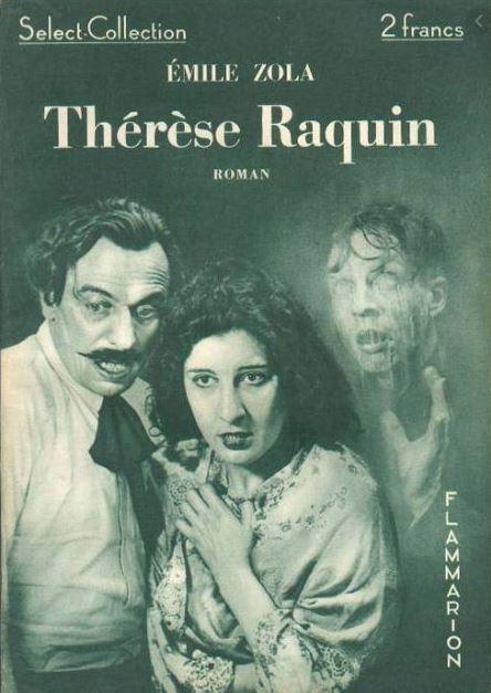 Therese Raquin chapitre 21, on voit la couverture du livre de Zola où est représenté ce chapitre.