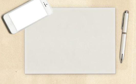 On voit la feuille blanche et le stylo avant de réussir à trouver le commentaire plan detaillé.